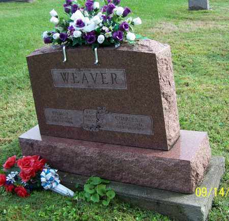 WEAVER, CHARLES E. - Tuscarawas County, Ohio   CHARLES E. WEAVER - Ohio Gravestone Photos