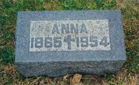 WEIGAND, ANNA - Tuscarawas County, Ohio | ANNA WEIGAND - Ohio Gravestone Photos