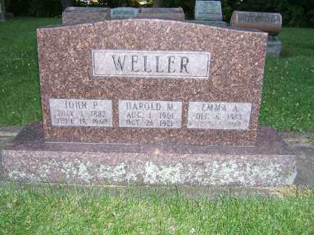 WELLER, HAROLD M - Tuscarawas County, Ohio   HAROLD M WELLER - Ohio Gravestone Photos