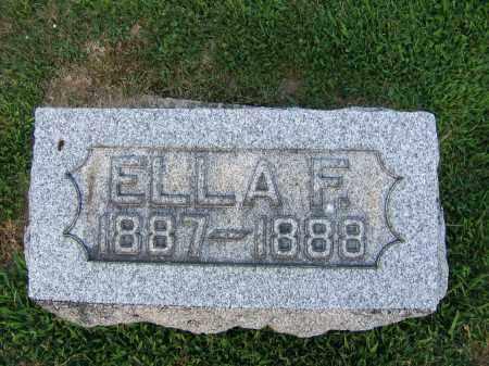 WENGER, ELLA F. - Tuscarawas County, Ohio   ELLA F. WENGER - Ohio Gravestone Photos