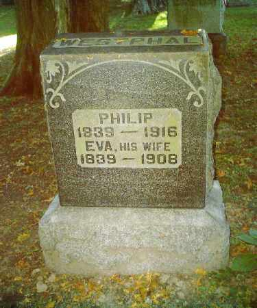 WESTPHAL, EVA - Tuscarawas County, Ohio | EVA WESTPHAL - Ohio Gravestone Photos