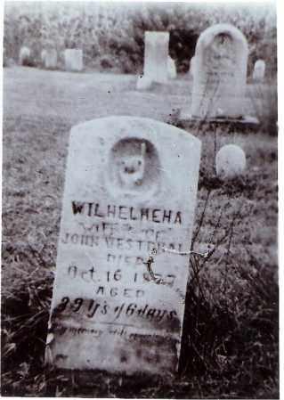 SINDLINGER WESTPHAL, WILHELMINA AMANDA - Tuscarawas County, Ohio   WILHELMINA AMANDA SINDLINGER WESTPHAL - Ohio Gravestone Photos