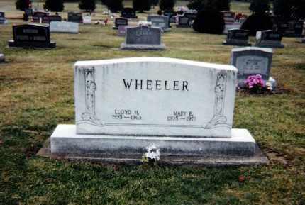 SHOWALTER WHEELER, MARY E. - Tuscarawas County, Ohio | MARY E. SHOWALTER WHEELER - Ohio Gravestone Photos