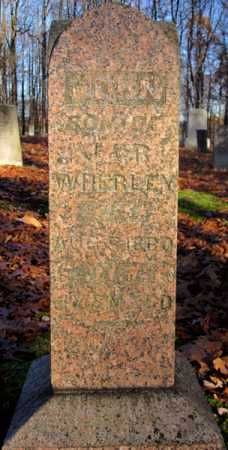 WHERLEY, JOHN - Tuscarawas County, Ohio | JOHN WHERLEY - Ohio Gravestone Photos