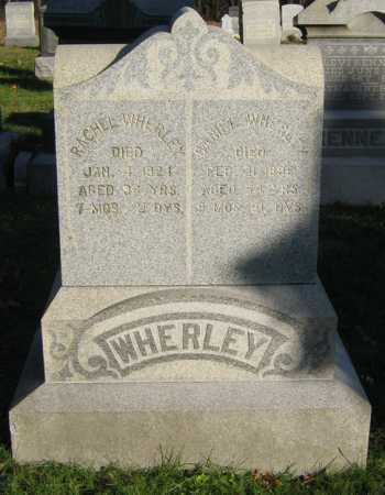 WHERLEY, DANIEL - Tuscarawas County, Ohio | DANIEL WHERLEY - Ohio Gravestone Photos