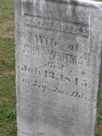 WHITMAN, CATHARINE - Tuscarawas County, Ohio | CATHARINE WHITMAN - Ohio Gravestone Photos