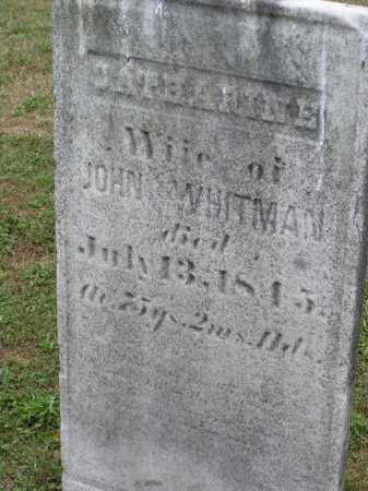 WHITMAN, CATHARINE - Tuscarawas County, Ohio | CATHARINE WHITMAN - Ohio Gravestone Photos
