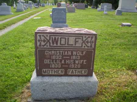 WOLF, DELLILA - Tuscarawas County, Ohio | DELLILA WOLF - Ohio Gravestone Photos