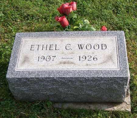 WOOD, ETHEL C. - Tuscarawas County, Ohio | ETHEL C. WOOD - Ohio Gravestone Photos