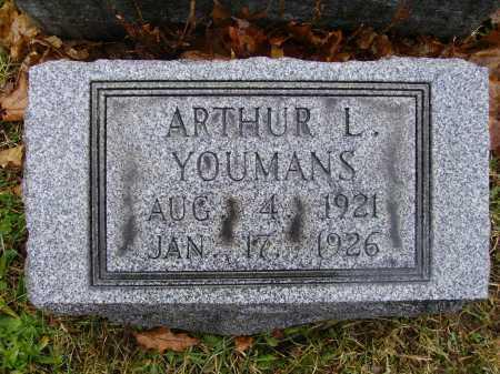 YOUMANS, ARTHUR L. - Tuscarawas County, Ohio | ARTHUR L. YOUMANS - Ohio Gravestone Photos