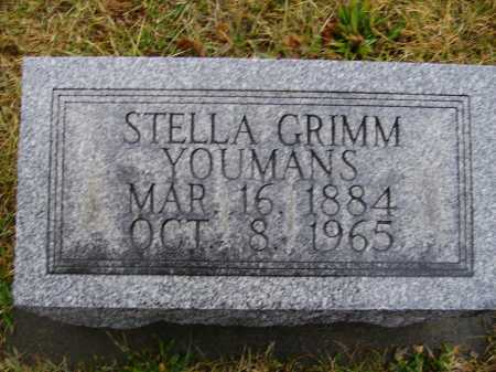 GRIMM YOUMANS, STELLA - Tuscarawas County, Ohio | STELLA GRIMM YOUMANS - Ohio Gravestone Photos