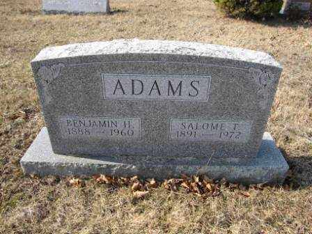 ADAMS, BENJAMIN H. - Union County, Ohio | BENJAMIN H. ADAMS - Ohio Gravestone Photos