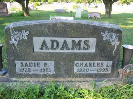 ADAMS, SADIE E. - Union County, Ohio   SADIE E. ADAMS - Ohio Gravestone Photos
