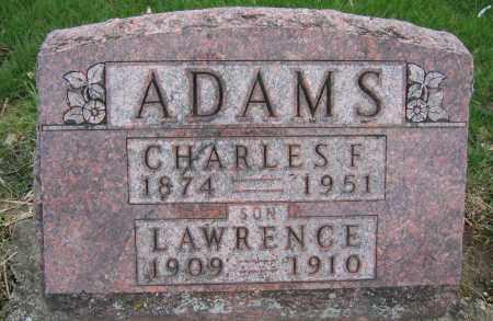 ADAMS, CHARLES F. - Union County, Ohio | CHARLES F. ADAMS - Ohio Gravestone Photos