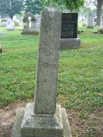 ADAMS, MARGARET M. - Union County, Ohio | MARGARET M. ADAMS - Ohio Gravestone Photos