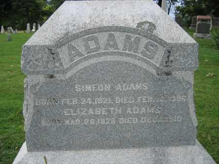ADAMS, ELIZABETH - Union County, Ohio | ELIZABETH ADAMS - Ohio Gravestone Photos