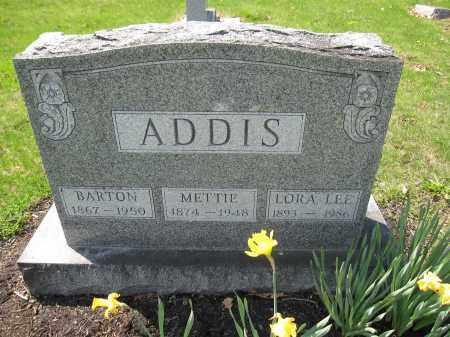 ADDIS, BARTON - Union County, Ohio | BARTON ADDIS - Ohio Gravestone Photos
