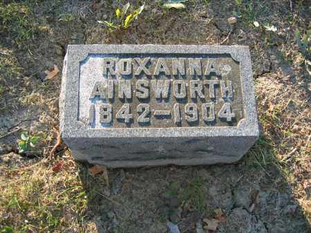 AINSWORTH, ROXANNA - Union County, Ohio | ROXANNA AINSWORTH - Ohio Gravestone Photos