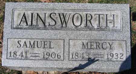 AINSWORTH, MERCY - Union County, Ohio | MERCY AINSWORTH - Ohio Gravestone Photos