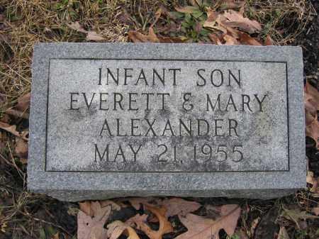 ALEXANDER, INFANT SON - Union County, Ohio | INFANT SON ALEXANDER - Ohio Gravestone Photos