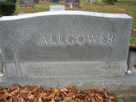 ALLGOWER, ROLLAND G. - Union County, Ohio | ROLLAND G. ALLGOWER - Ohio Gravestone Photos