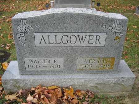 ALLGOWER, VERA P. - Union County, Ohio | VERA P. ALLGOWER - Ohio Gravestone Photos