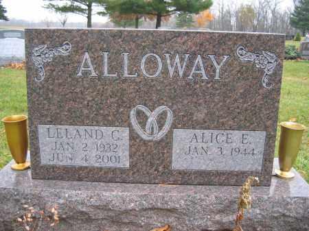 ALLOWAY, LELAND C. - Union County, Ohio   LELAND C. ALLOWAY - Ohio Gravestone Photos