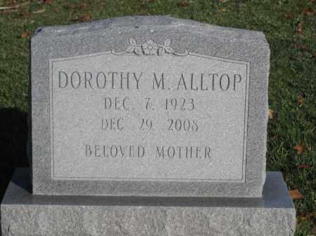 ALLTOP, DOROTHY M. - Union County, Ohio   DOROTHY M. ALLTOP - Ohio Gravestone Photos