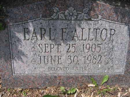 ALLTOP, EARL F. - Union County, Ohio | EARL F. ALLTOP - Ohio Gravestone Photos