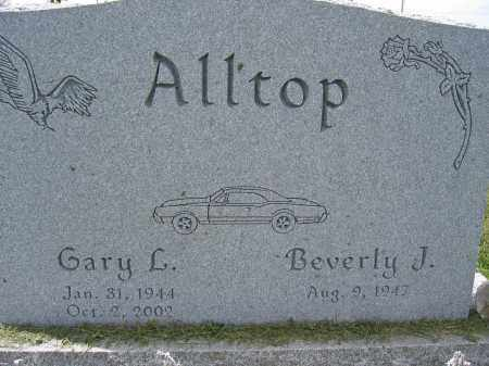 ALLTOP, GARY L. - Union County, Ohio | GARY L. ALLTOP - Ohio Gravestone Photos