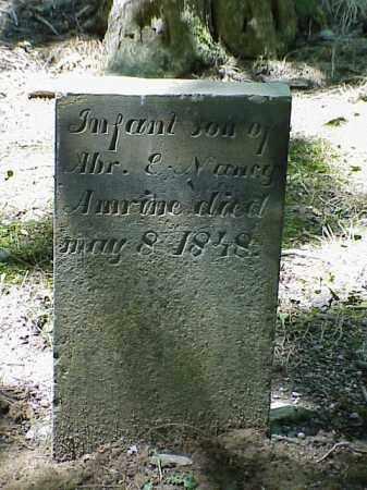 AMERINE, INFANT SON - Union County, Ohio | INFANT SON AMERINE - Ohio Gravestone Photos