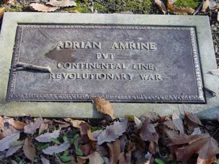 AMRINE, ADRIAN - Union County, Ohio | ADRIAN AMRINE - Ohio Gravestone Photos