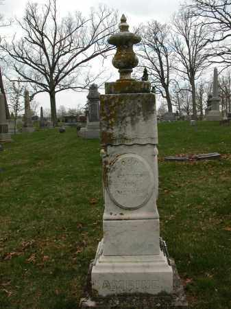 AMRINE, NANCY - Union County, Ohio | NANCY AMRINE - Ohio Gravestone Photos