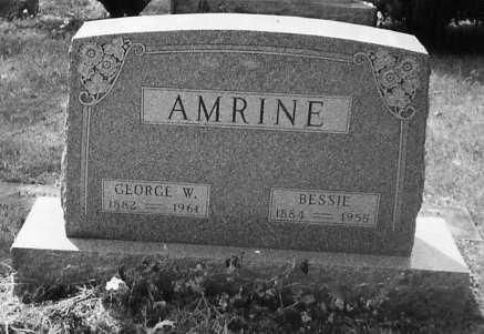 AMRINE, BESSIE - Union County, Ohio | BESSIE AMRINE - Ohio Gravestone Photos