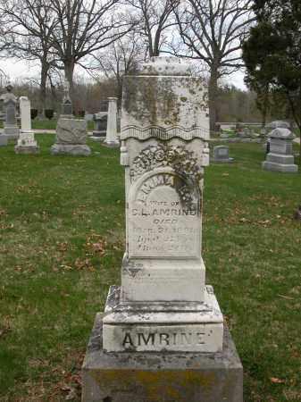 AMRINE, EMMA E. - Union County, Ohio   EMMA E. AMRINE - Ohio Gravestone Photos