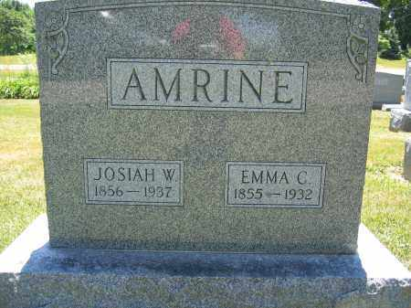 AMRINE, JOSIAH W. - Union County, Ohio | JOSIAH W. AMRINE - Ohio Gravestone Photos