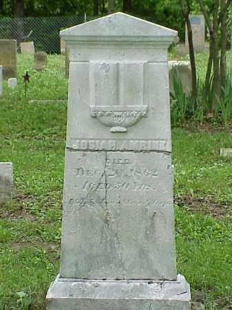 AMRINE, JOSIAH - Union County, Ohio   JOSIAH AMRINE - Ohio Gravestone Photos
