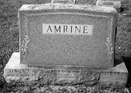 AMRINE, LEWIS F. - Union County, Ohio | LEWIS F. AMRINE - Ohio Gravestone Photos