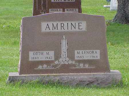 AMRINE, M. LENORA - Union County, Ohio | M. LENORA AMRINE - Ohio Gravestone Photos