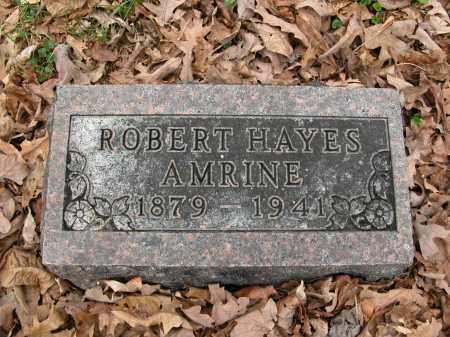 AMRINE, ROBERT HAYES - Union County, Ohio   ROBERT HAYES AMRINE - Ohio Gravestone Photos