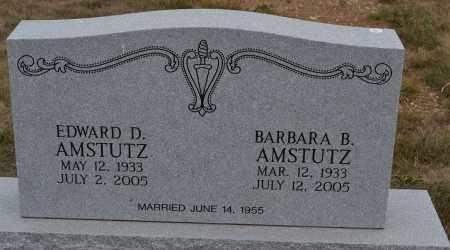 AMSTUTZ, BARBARA B. - Union County, Ohio | BARBARA B. AMSTUTZ - Ohio Gravestone Photos