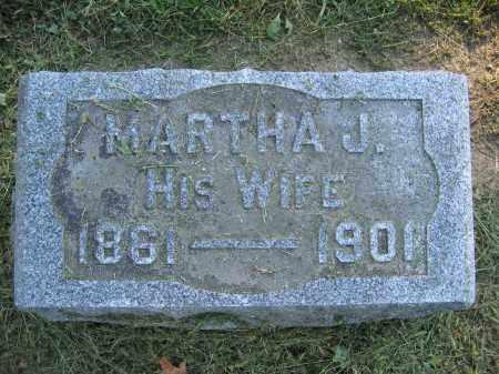 ANDERSON, MARTHA J. - Union County, Ohio   MARTHA J. ANDERSON - Ohio Gravestone Photos