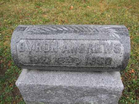 ANDREWS, BYRON - Union County, Ohio | BYRON ANDREWS - Ohio Gravestone Photos