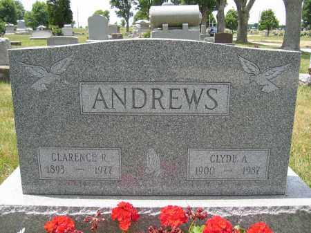 ANDREWS, CLYDE A. - Union County, Ohio | CLYDE A. ANDREWS - Ohio Gravestone Photos