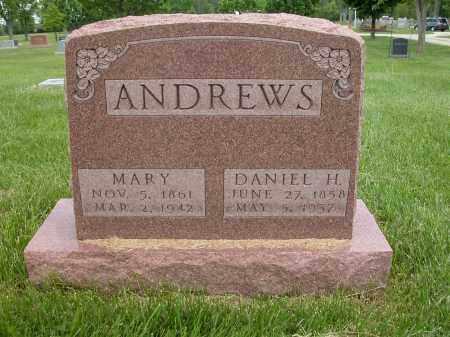 ANDREWS, MARY - Union County, Ohio | MARY ANDREWS - Ohio Gravestone Photos