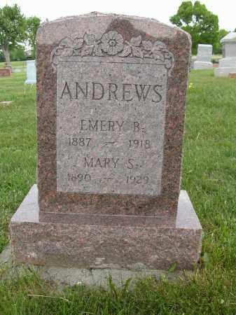 ANDREWS, MARY S. - Union County, Ohio | MARY S. ANDREWS - Ohio Gravestone Photos