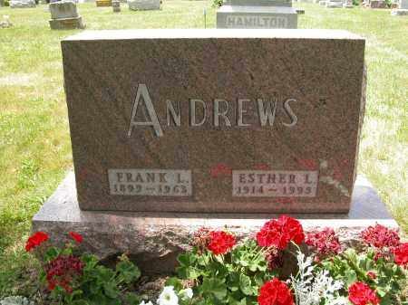 ANDREWS, FRANK L. - Union County, Ohio | FRANK L. ANDREWS - Ohio Gravestone Photos