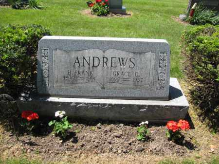 ANDREWS, HARVEY FRANK - Union County, Ohio | HARVEY FRANK ANDREWS - Ohio Gravestone Photos