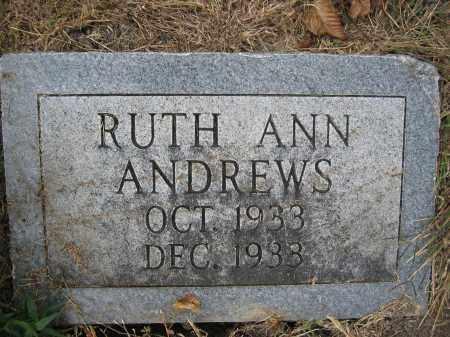 ANDREWS, RUTH ANN - Union County, Ohio   RUTH ANN ANDREWS - Ohio Gravestone Photos