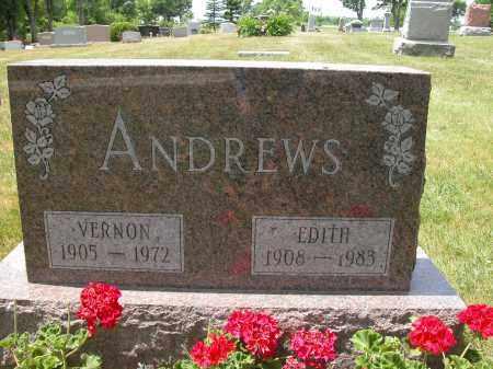 ANDREWS, EDITH - Union County, Ohio   EDITH ANDREWS - Ohio Gravestone Photos